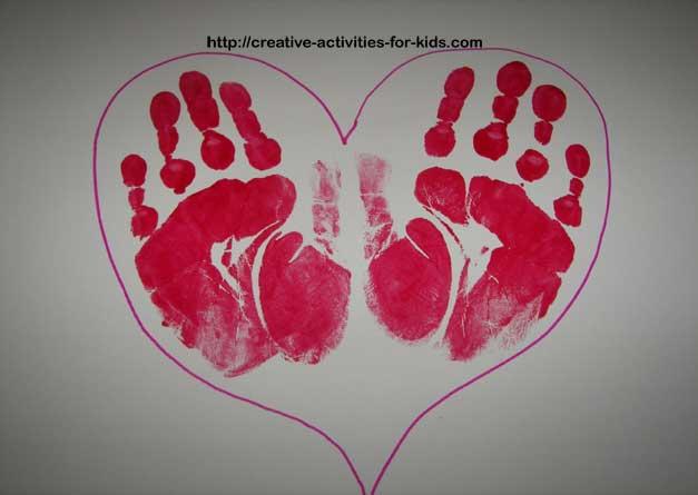 Handprint Crafts